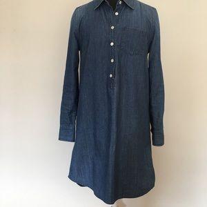 J.Crew Keeper chambray shirt dress